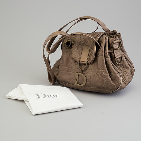 A bag by christian dior.