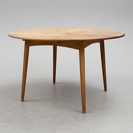 a 1960s oak dining table dsigned by hans j wegner for andreas tuck