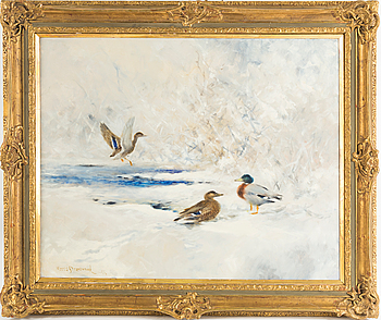 MOSSE STOOPENDAAL, oiol on canvas, signed and dated -44.