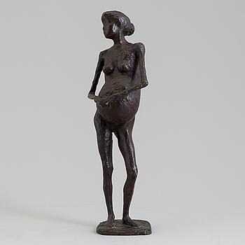 ASMUND ARLE, Skulptur, brons, signerad Asmund Arle och daterad 1959.