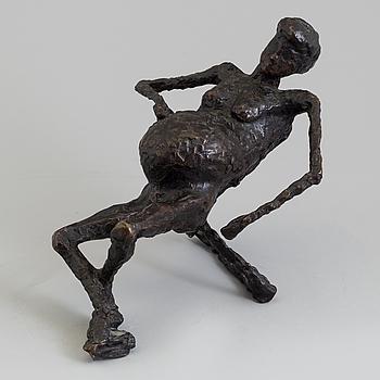 ASMUND ARLE, Skulptur, brons, signerad A. Arle och numrerad 2/5.