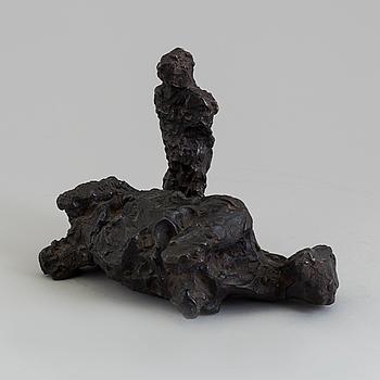 ASMUND ARLE, Skulptur, brons, signerad A. Arle.