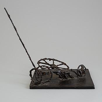 ASMUND ARLE, Sculpture, bronze, signed Asmund Arle and dated 1963-69. Numbered 1/5.