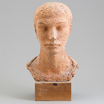 ASMUND ARLE, Skulptur, terracotta, signerad A. Arle och daterad -47.