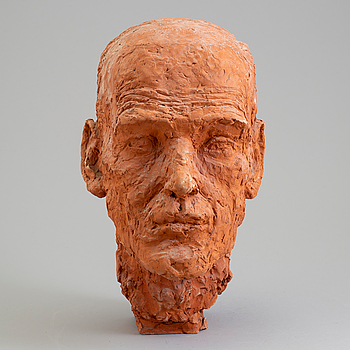 ASMUND ARLE, Skulptur, terracotta, signerad A. Arle och numrerad Prov II.