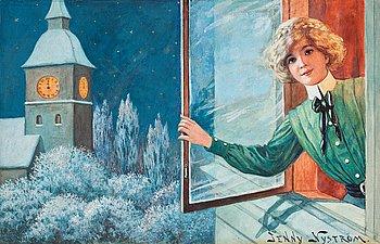 367. Jenny Nyström, The New Year.