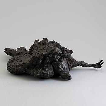ASMUND ARLE, Skulptur, brons, signerad A. Arle och numrerad 1/4.