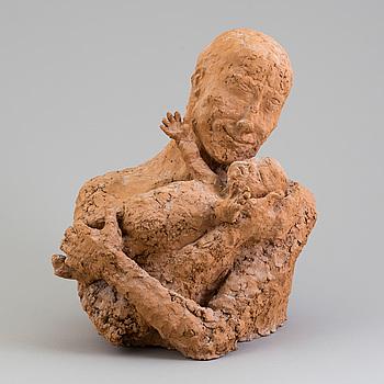 ASMUND ARLE, Skulptur, terracotta, signerad Asmund Arle och daterad -71.