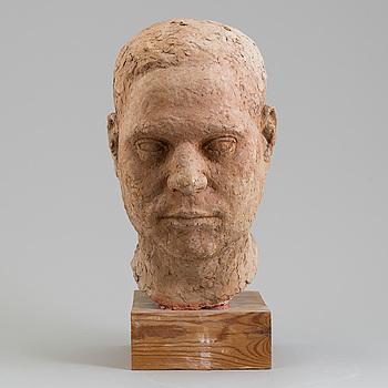 ASMUND ARLE, Skulptur, terracotta, signerad A. Arle.