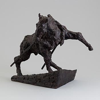 ASMUND ARLE, Skulptur, brons, signerad Asmund Arle.