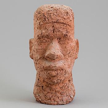 ASMUND ARLE, Skulptur, terracotta, signerad Asmund Arle och daterad 1951.