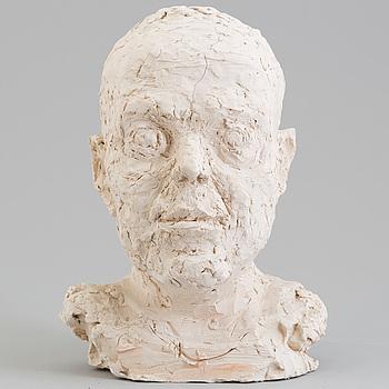 ASMUND ARLE, Skulptur, lera, signerad Asmund Arle och daterad 1978.