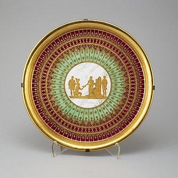 FAT, porslin, empirestil, 1800/1900-tal.