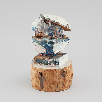 BERTO MARKLUND, sculpture, wood, signed Berto.