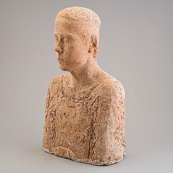 ASMUND ARLE, Skulptur, terracotta, signerad Asmund Arle och daterad 1951-52.