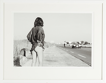 TONY LANDBERG, pigment print, signed and numbered, 6/70, 1972.