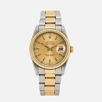 ROLEX, Oyster Perpetual, Datejust, armbandsur, 36 mm,