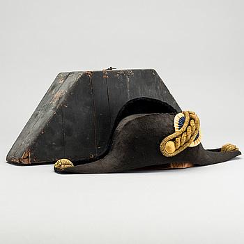 BICORNE, Sverige 1800-talets andra hälft.