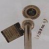 "Verner panton, an enameled metal ""flower pot"", by louis poulsen, denmark 1970's."