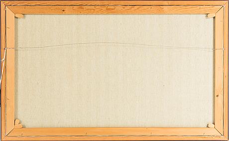 Helmut mantel, olja på duk, signerad