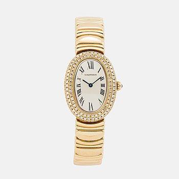 CARTIER, Baignoire, armbandsur, 23 x 30,5 mm,