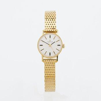 CERTINA armbandsur dam 18K guld, 20 mm, 186425.