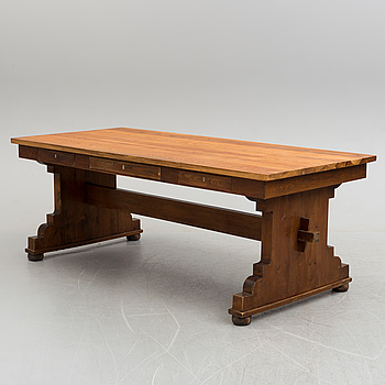 A first half of the 20th century pine table.