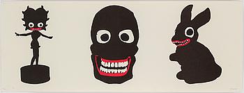 MAKODE LINDE, färglitografi, signerad Makode och numrerad med blyerts 10/17.