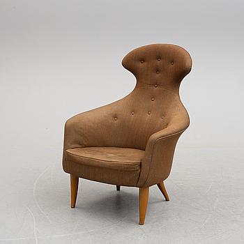 A 'Stora Eva' easy chair by Kerstin Hörlin-Holmquist for Nordiska Kompaniet.