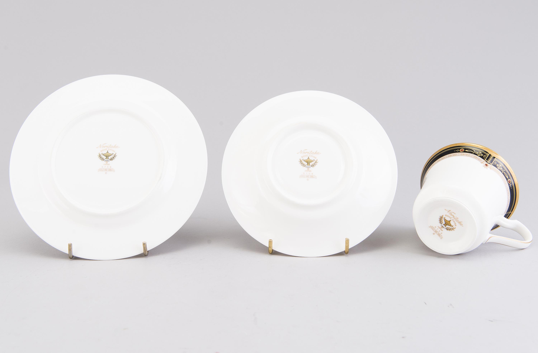 A Japanese 84-pcs Noritake porcelain coffee set and