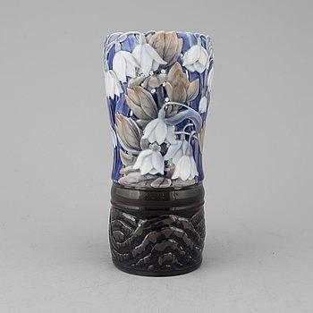 A Bing & Gröndahl porcelaine vase by Fanny Garde.