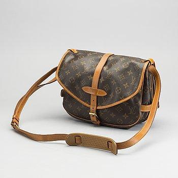 """LOUIS VUITTON, """"Saumur 30"""" väska."""