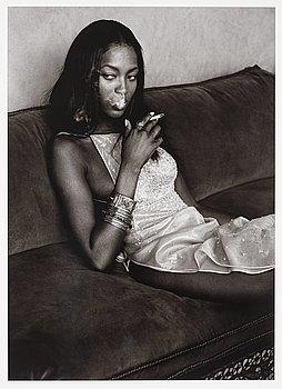 """236. Albert Watson, """"Naomi Campbell, Marrakech, 1998""""."""