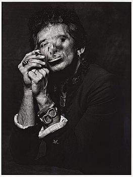 """221. ALBERT WATSON, """"Keith Richards, New York City, 1998""""."""