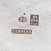 Samovaari, hopeaa, johan ferdinand olsonius, grachev, pietari 1882.