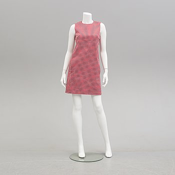 LOUIS VUITTON, a cotton dress, French size 36.