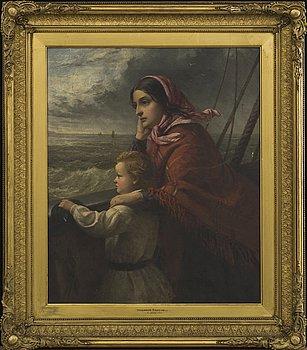 THOMAS BROOKS, olja på duk, monogramsignerad 1864.