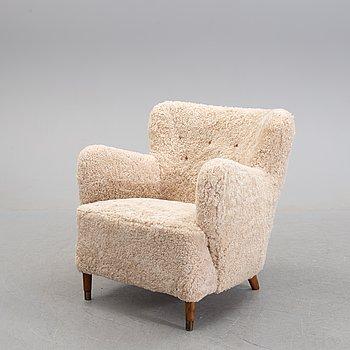 A 1940/50's danish easy chair.