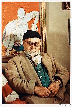 "313. Gisèle Freund, ""Henri Matisse, Paris, 1948""."