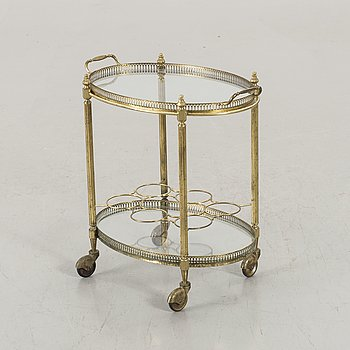 DINING TROLLEY, second half of the 20th century.