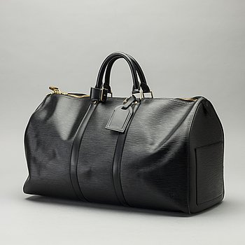 "LOUIS VUITTON, ""keepall 50 epi"" weekendbag."