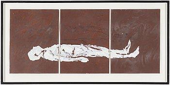 NINO LONGOBARDI, mixed media on paper.