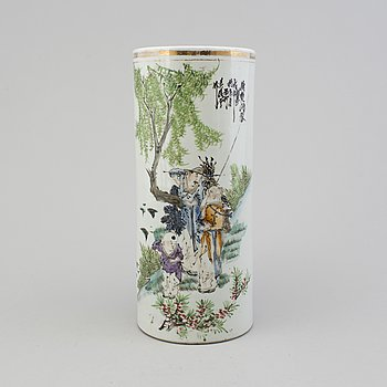 A 20th century Chinese porcelain vase.