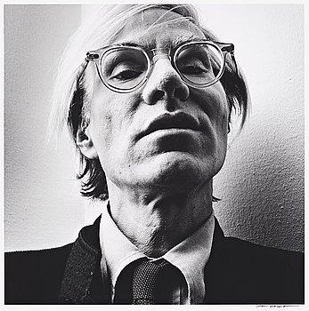"""214. Hans Gedda, """"Andy Warhol"""", 1976."""