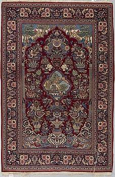 MATTA, Semiantik Keshan, 204 x 131 cm.