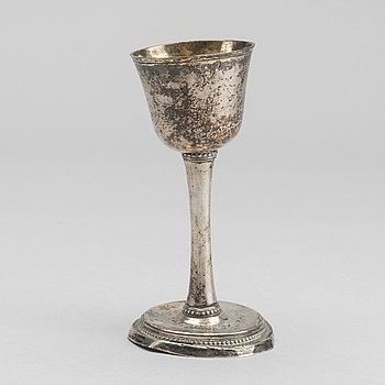 A silver cup, Stockholm 1785.