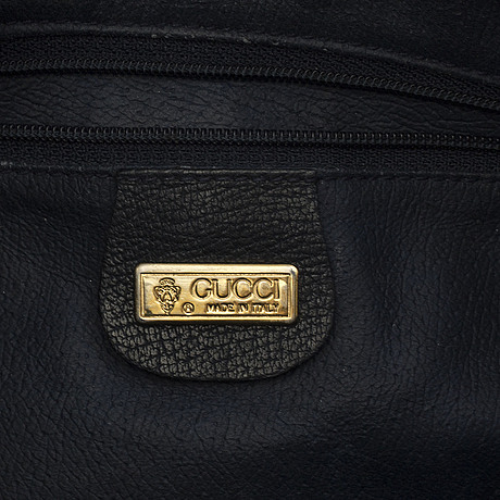 Gucci, two monogram canvas crossbody bags.