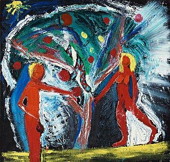 """206. Roger Risberg, """"Adam och Eva""""."""