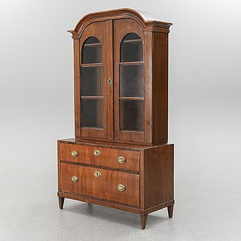 A first half of the 19th century cabinet.