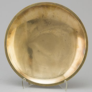 JUST ANDERSEN, a bronze plate from the first half of the 20th century.